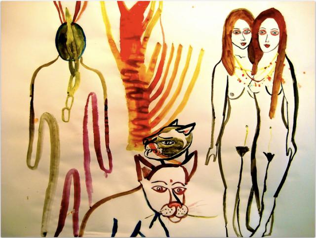 some of Arrington's amazing visual art.