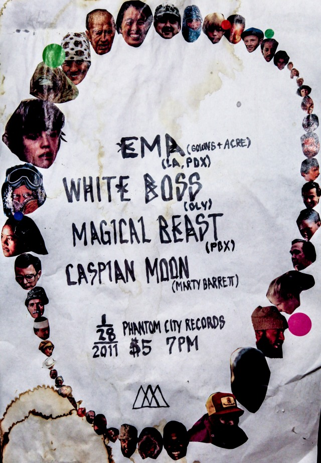 Flyer from first EMA show ever.